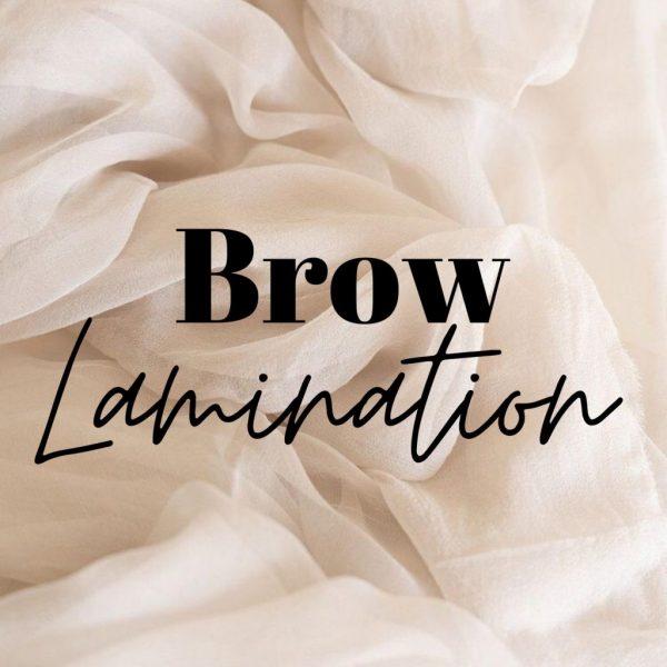 TRAINING - BROW LAMINATION
